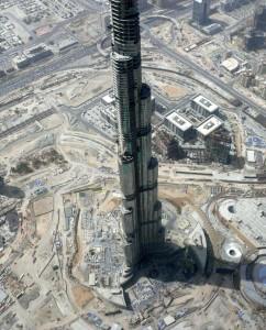 Nejvyšší budova světa - Burdž Dubaj - Dubajská věž, 818 metrů!