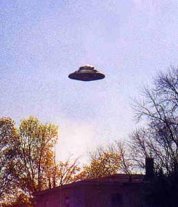 Ilustrační foto - UFO