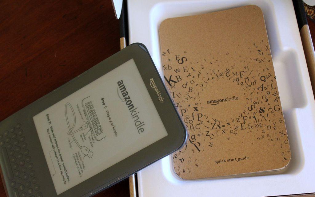 Zkušenost: Nákup Amazon Kindle 3 z USA díl 3.