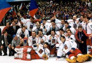 Zlatí hoši - úspěch českých hokejistů v Naganu 1998