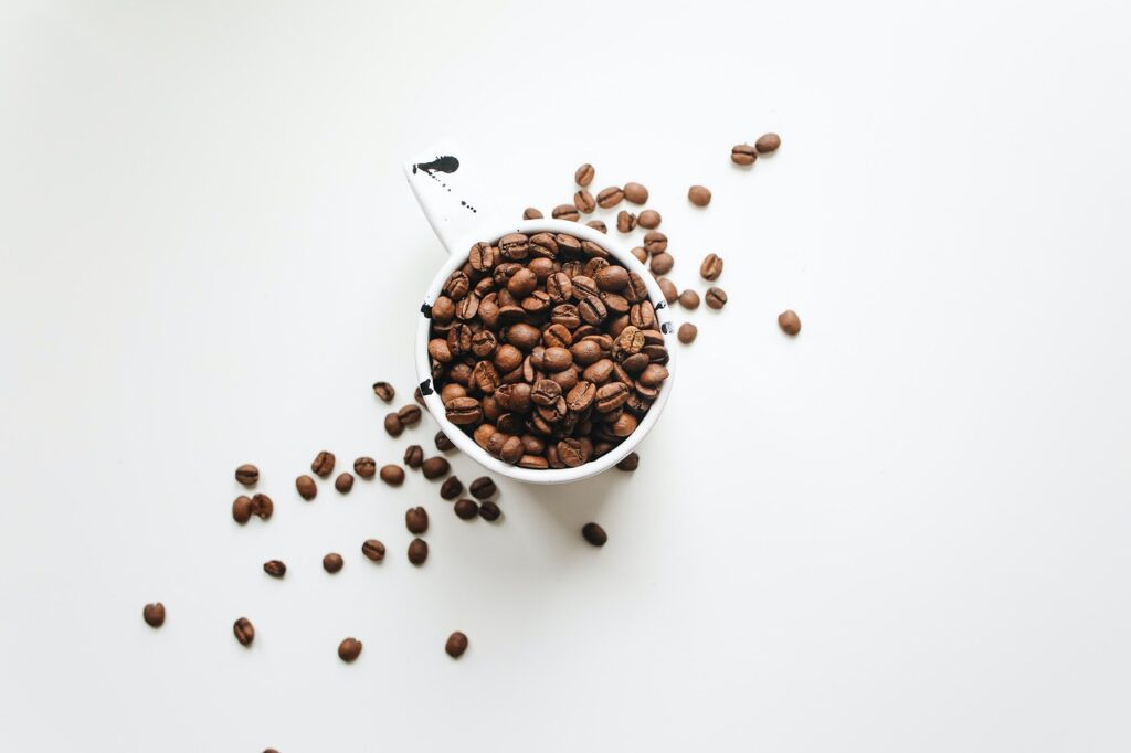 Coffee Coffe Beans Cup Cafe Aroma  - SixpathofDewa / Pixabay