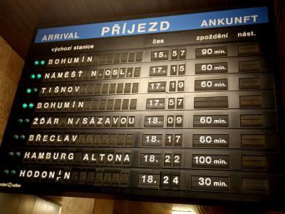 České dráhy budou vyplácet kompenzace za zpoždění, ale jen někdy