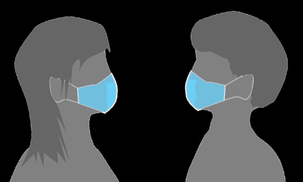 Masks A Man And A Woman With Ropu%C%Akou  - MAKY_OREL / Pixabay