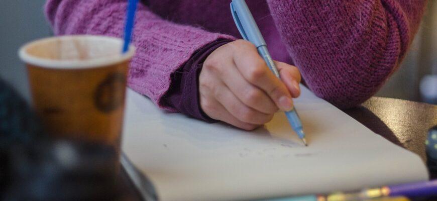 Process Drawing Pen Hands Brush  - Artem_Apukhtin / Pixabay