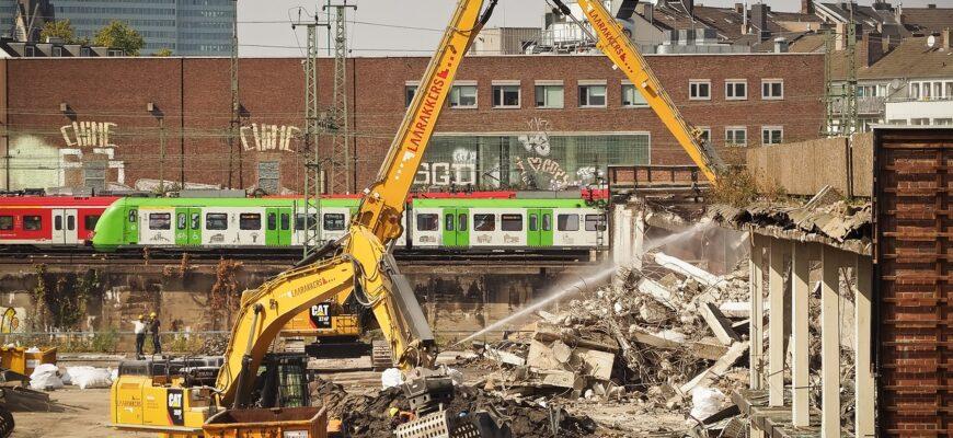 Site Demolition Work Demolition  - MichaelGaida / Pixabay