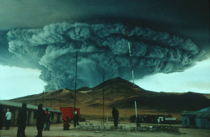 Za současné počasí prý může sopečný prach ze sopky na Islandu