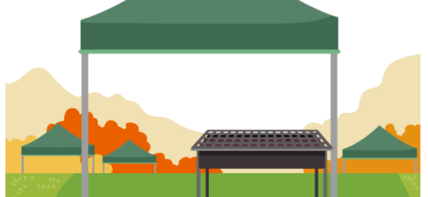 Tent Barbecue Camp Camping Grill  - RoadLight / Pixabay