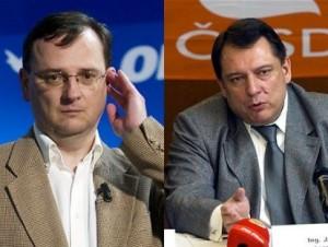 Volby 2010: ODS vs. ČSSD? (foto:idnes.cz)