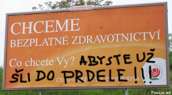 I takto vypadá názor běžného voliče. (Zdroj foto: www.utrum.cz)